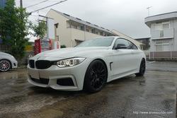 【お客様の声】BMW 4シリーズクーペ(F32) BMW仕様スーパーデッドニング施工