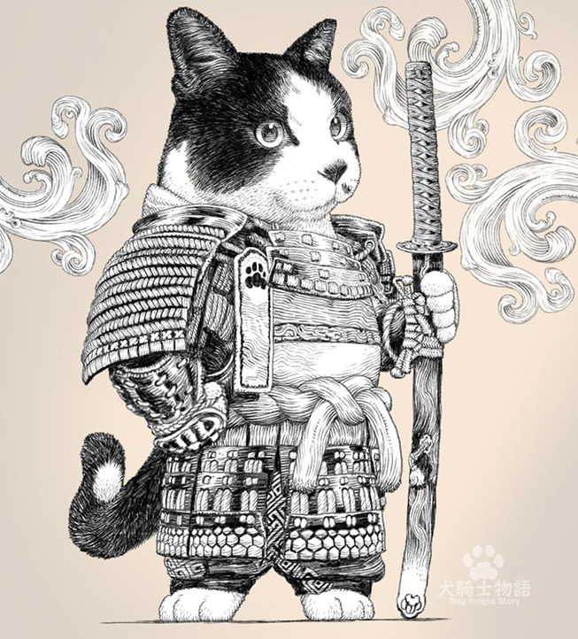 dog-cat-knights-art-ponkichi-1-5e0c9081ed748__700
