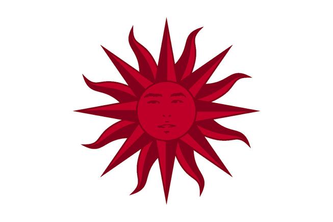 Sunflag oriental face