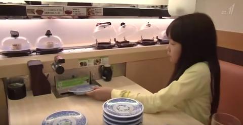 回転寿司 海外の反応