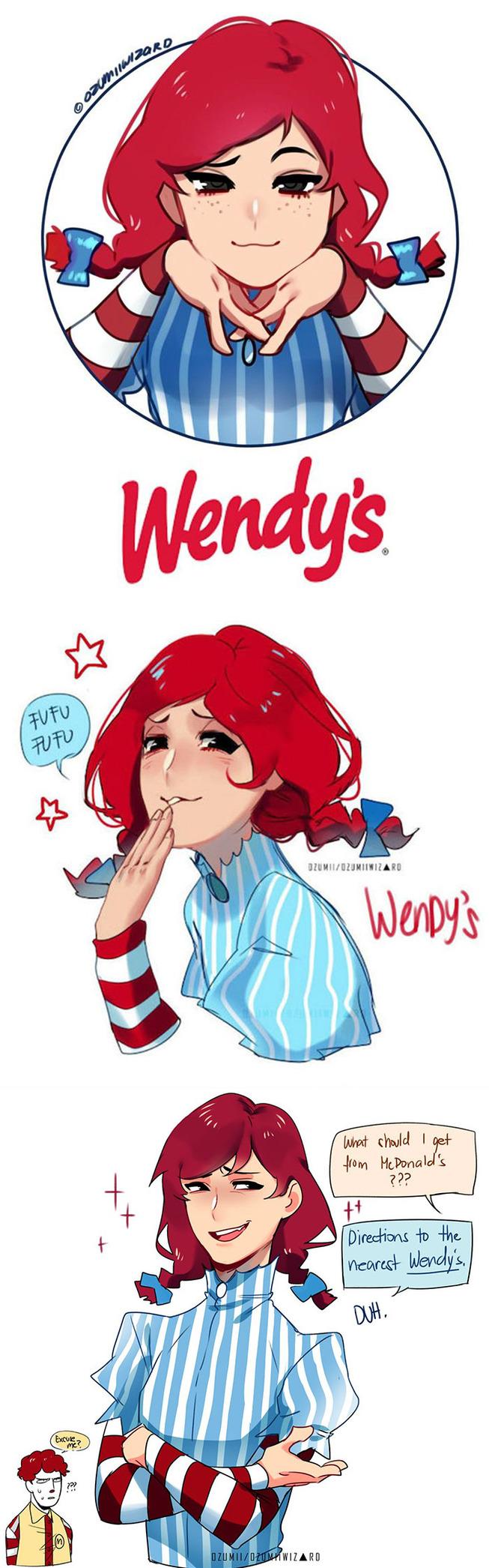 fast-food-restaurants-anime-characters