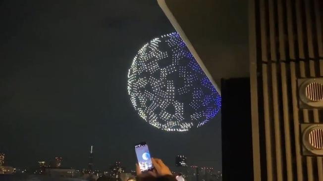 drones Japan Tokyo2020 Olympics opening ceremony