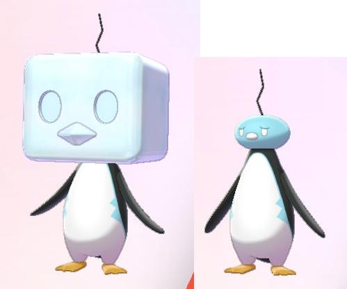 外国人「ポケモン新作のペンギンは流石に酷すぎるデザインだと