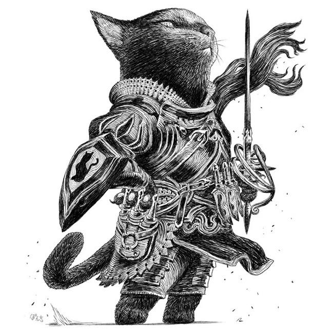 dog-cat-knights-art-ponkichi-5e0c92aa8a35c__700