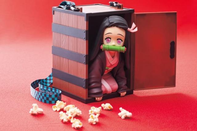 Demon-Slayer-USJ-Kimetsu-no-Yaiba-Nezuko-popcorn