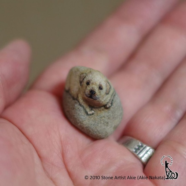 This-Japanese-artist-turns-stones-into-art