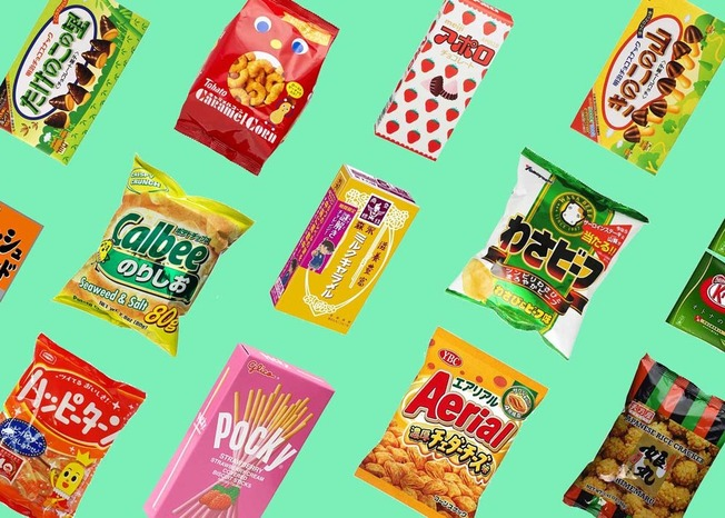 Japanese-Snacks