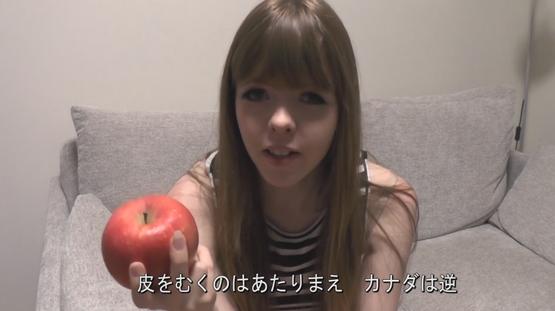 果物の皮と日本人 海外の反応