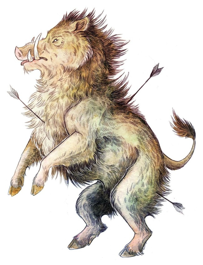 Artworks-of-Creatures-from-Welsh-Folklore