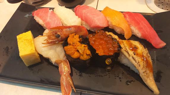 8 - Assorted Sushi