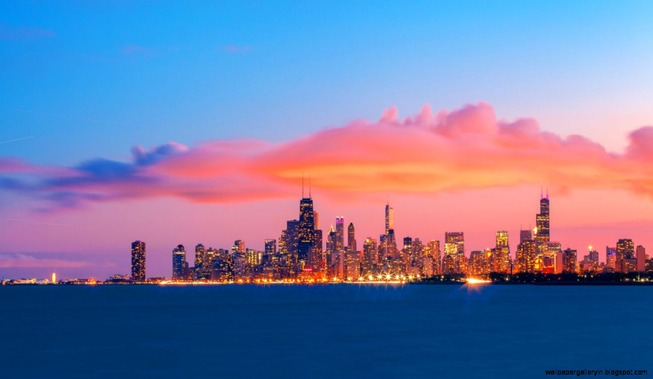 chicago-sunset-wallpapers-hd-wallpapers