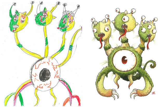 go-monster-project-kids-drawings-inspire-artists-43__880