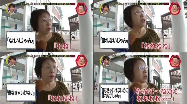 秋田弁 マツコの知らない世界