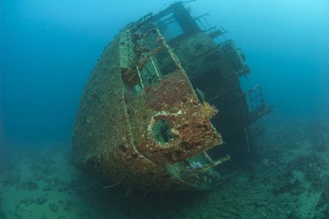 bigstock-Stern-Section-Of-A-Shipwreck-33273323