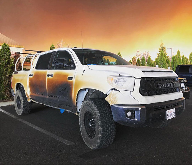 toyota-response-replacement-burnt-truck-california-fire-