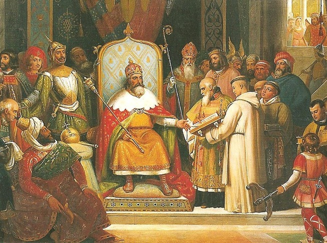Charlemagne-et-Alcuin