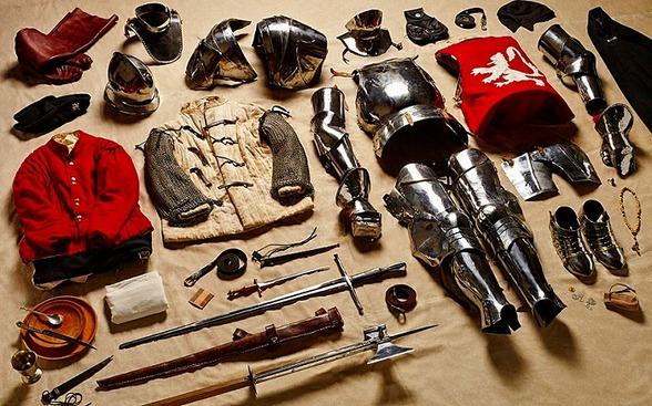 1588年 民兵会社の兵士の所持品