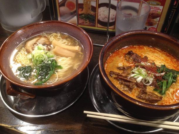 05 - Shio and spicy tonkotsu ramen Harajuku