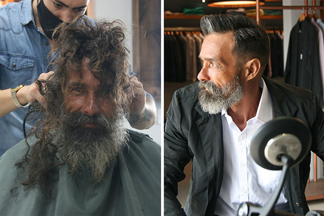 homeless-man-transformation-viral-family-finds