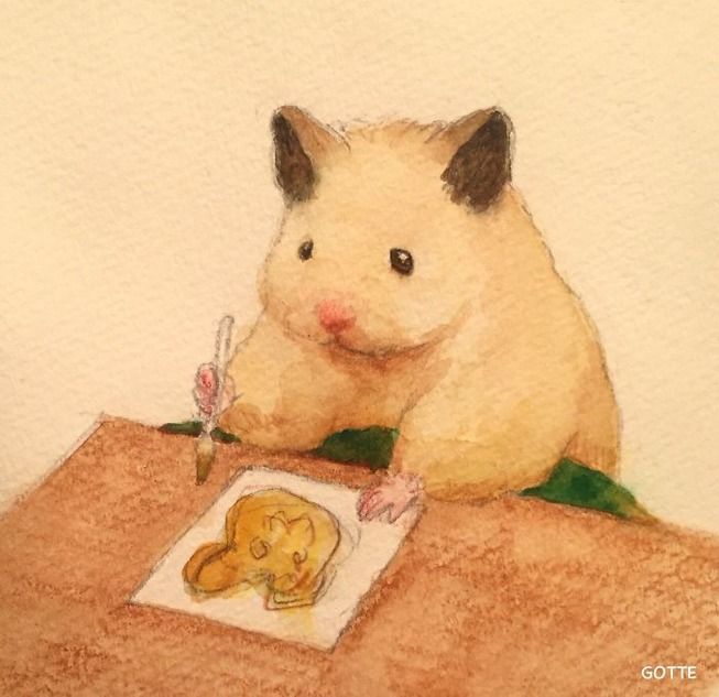 Artist-typical-life-of-a-Japanese-hamster-very-cute