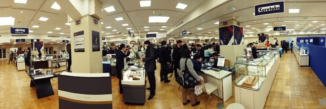 05 - Mitsukoshi World Pen Fair Floor