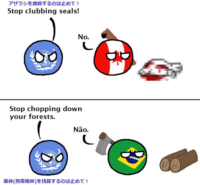 国連 ポーランドボール