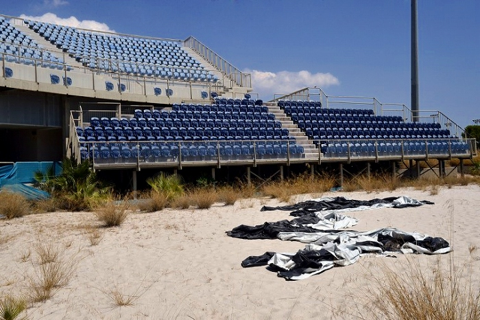 Abandoned olympic sports complex in athens 14 pics