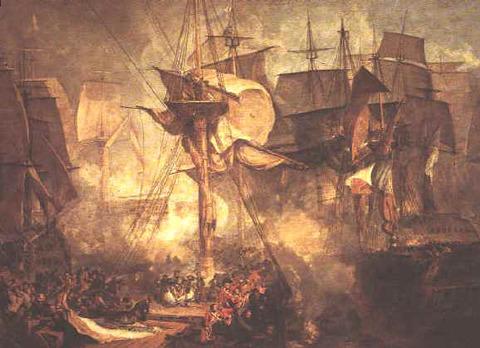Turner,_The_Battle_of_Trafalgar_(1806)
