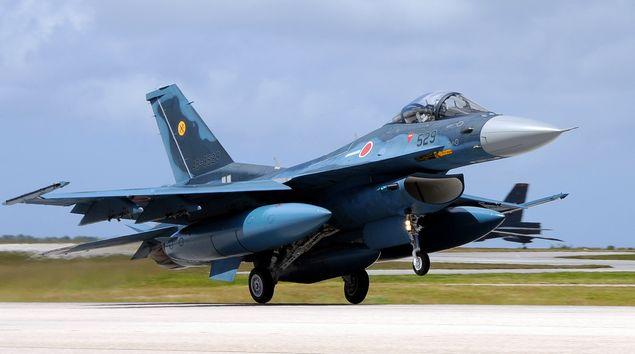 Mitsubishi_F-2_landing