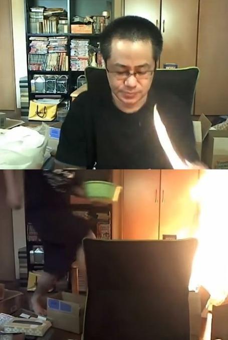 海外の反応 ライター 火事 火災