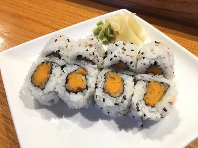 Yam-tempura-roll