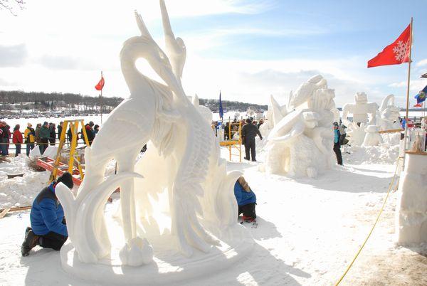 Snow Sculpting