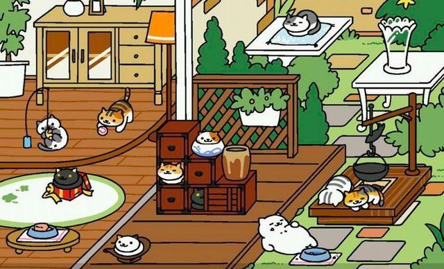 Neko_Atsume_Screenshots