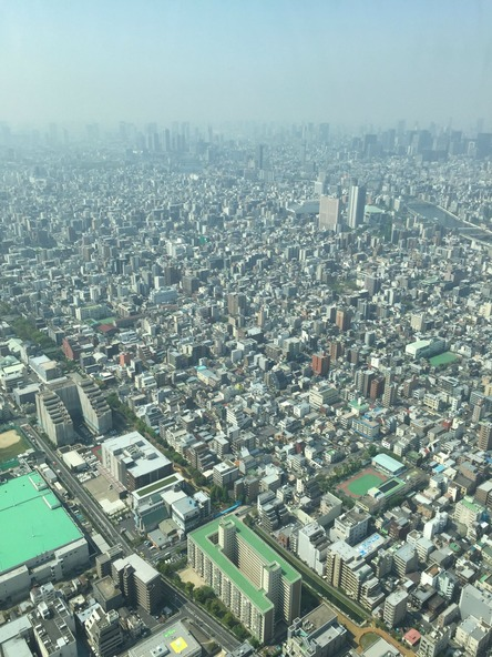 13 - Tokyo from the Sky Tree