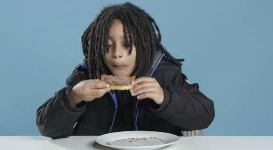 世界の朝食 アメリカ人の子供 反応