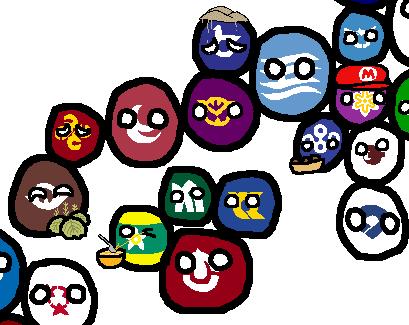 都道府県 ポーランドボール