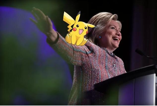 Hillary pokemon