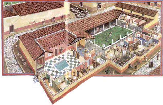 reconstruction-of-a-roman-villa