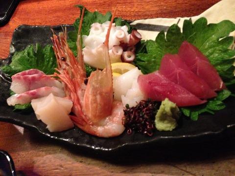 11 - Sashimi Platter