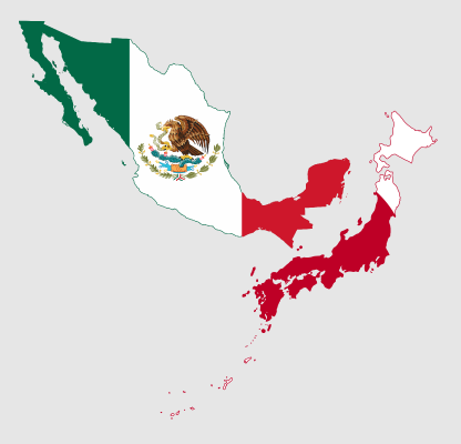 Flag-Maps-of-Mexico-and-Japan
