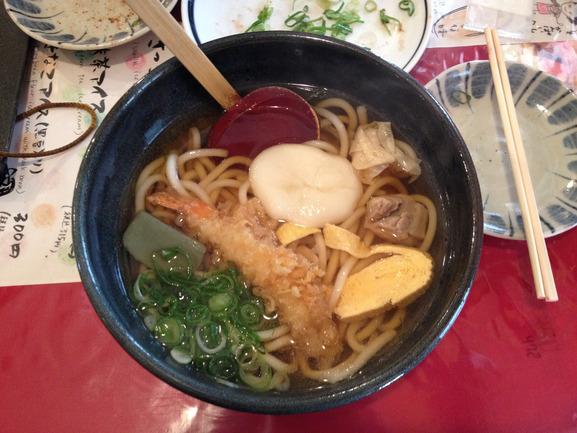 09 - Udon at Nishiki market in Kyoto