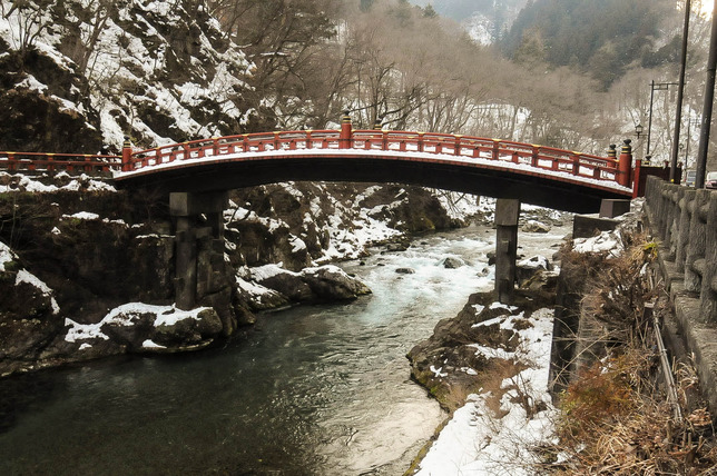 06 - Shinkyo Bridge in Nikko