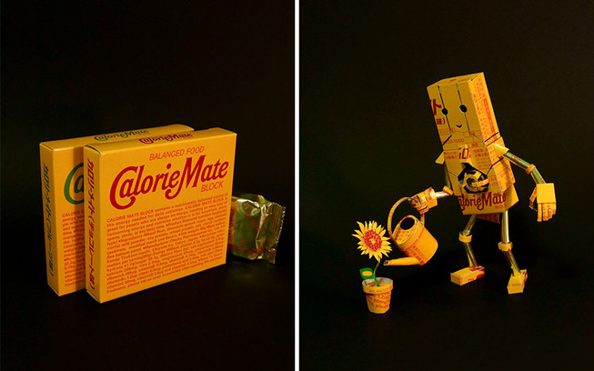Japanese-artist-turns-packaging-into-amazing-sculptures
