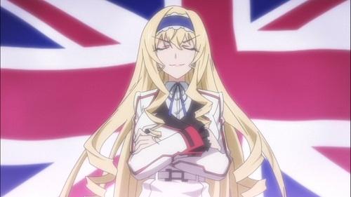 イギリスの代表候補生