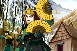 Kyoshi_Warrior_Fans