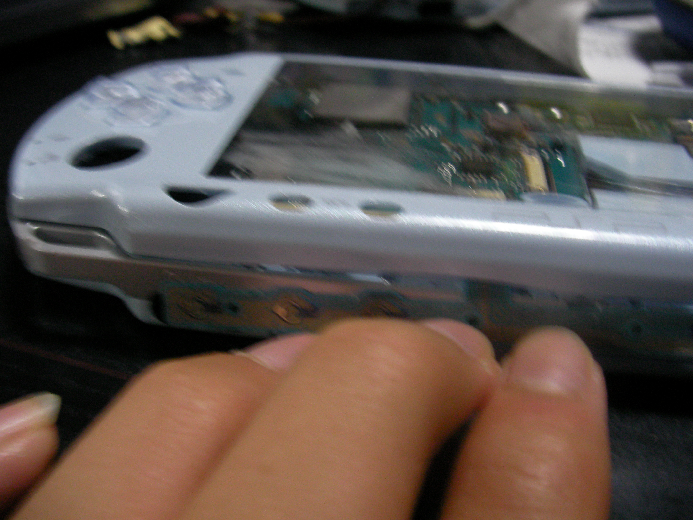 PSP改造魔 psp 液晶なしで動かす