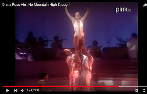 Diana Ross Ain't No Mountain High Enough
