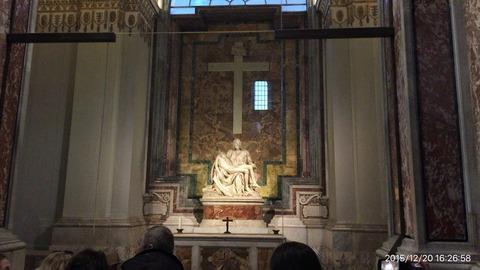 151220-370_ミケランジェロ「ピエタ像」サン・ピエトロ寺院