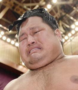 松鳳山男泣き