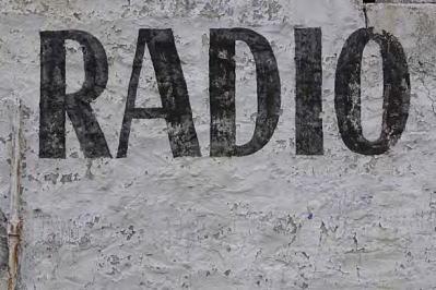 ラジオ番組の収録
